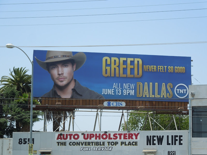 Dallas Greed billboard