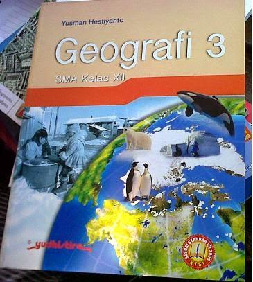 Buku Geografi Kelas 3 IPS Yudhistira