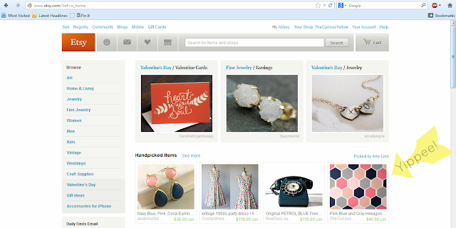 Etsy treasury Featured, Etsy homepage feature,