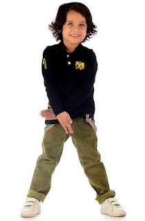FULL SLEEVES SPORTY TEE-SHIRTS WITH CARGO TROUSER'S AND CASUAL SHOES FOR BOYS BY SHER SINGH