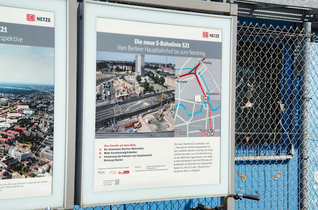 Baustelle Informationen, DB Netze, Am Berliner Hauptbahnhof, Europaplatz 1, 10557 Berlin, 03.08.2015