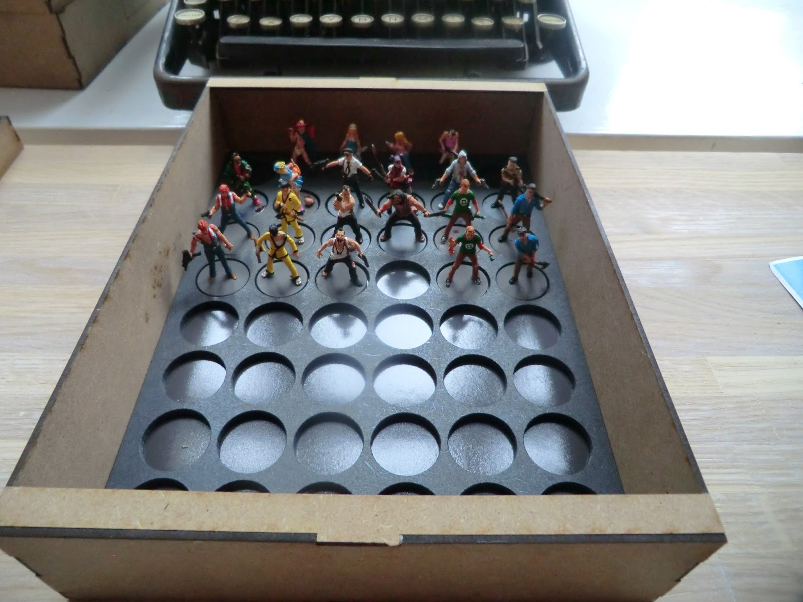 Sally 4th Forth Storage Crisis Miniatures Wood