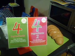 4 Ingredients & 4 Ingredients 2 cookbooks