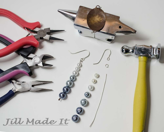 Fast, Easy, and Elegant Ombre Earrings Tutorial--Supplies Needed