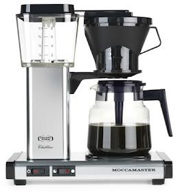 moccamaster hur mycket kaffe