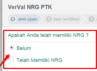 Cara/Panduan Verval NRG Padamu Negeri S26a