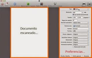 document scanning macintosh