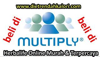 Beli Herbalife Online Murah Aman dan Nyaman di Multiply