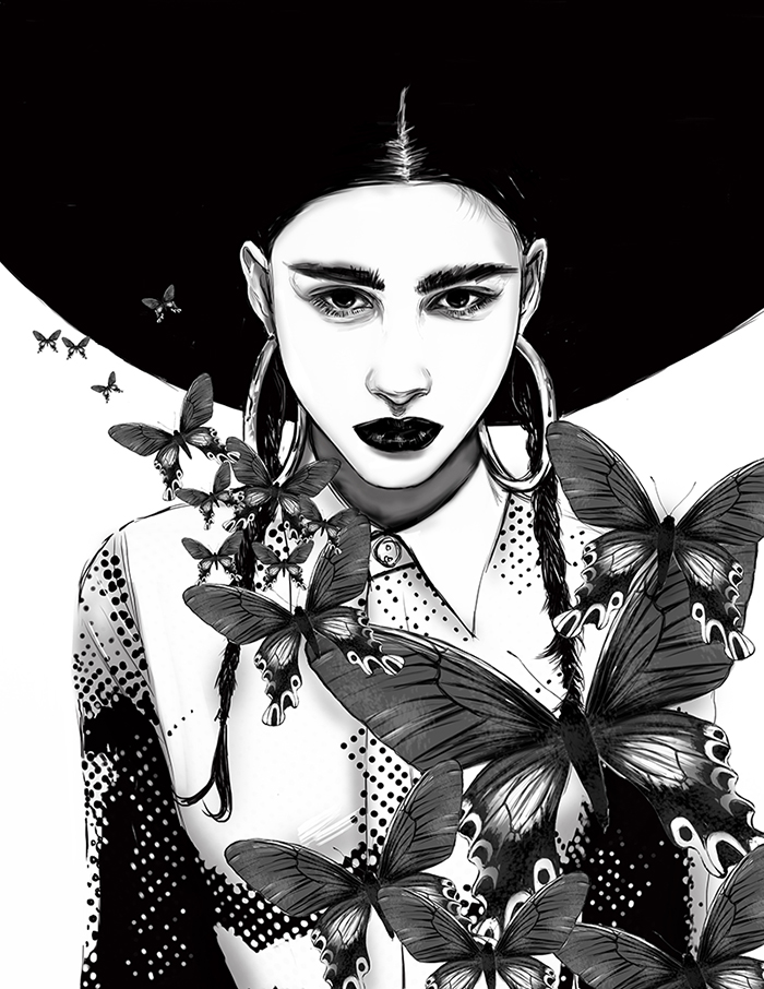 Fashion Illustrator Mengjie Di