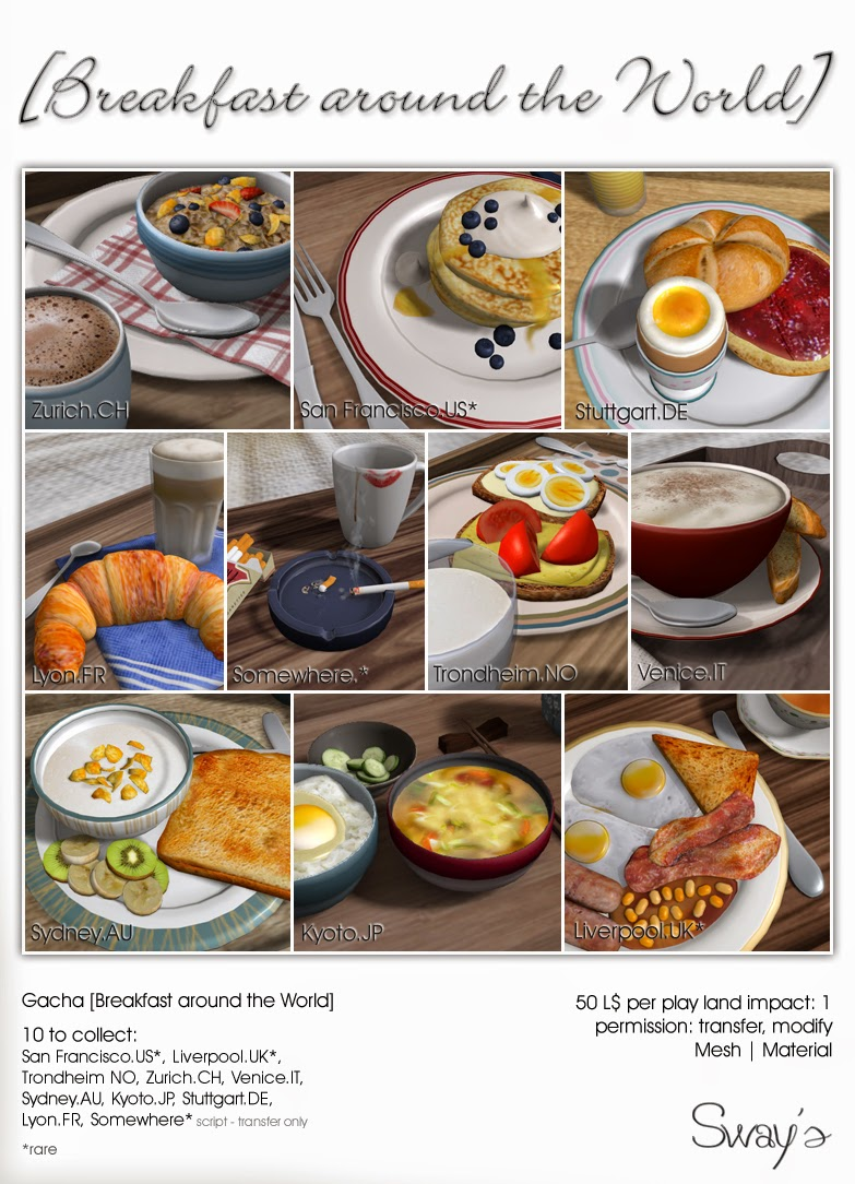 Sways Breakfast Around The World - Breakfast around world