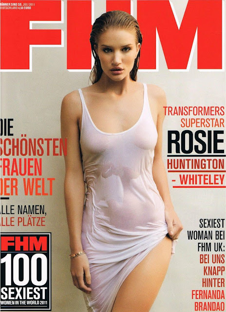 Rosie Huntington-Whiteley Hot FHM Germany