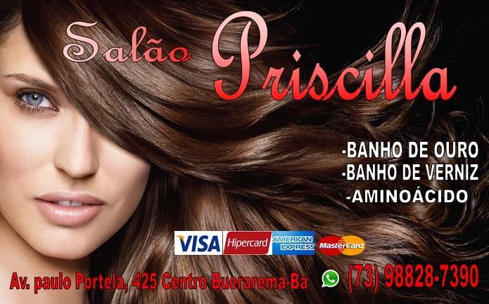 SALÃO PRISCILA - (73)98828-7390