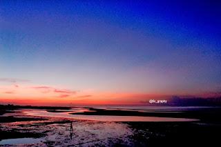 Sunset Pantai Pesisir Paiton Probolinggo