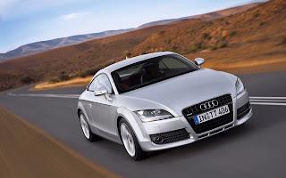 Silver Audi TT HD Wallpaper