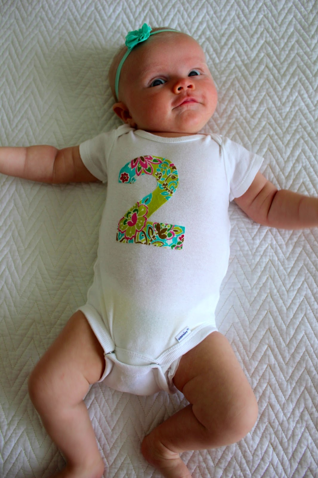 Sean and Nicole: Carson: two months old