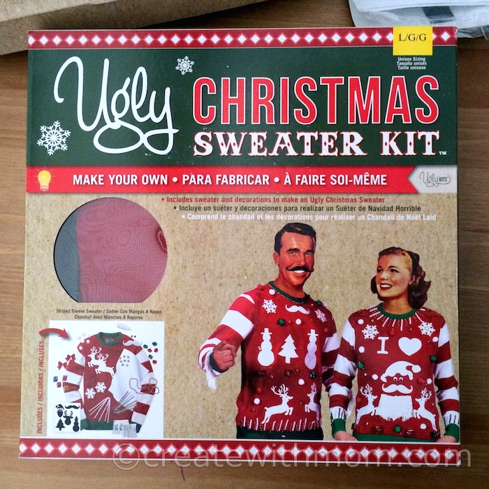 Create With Mom: Cozy Sleepwear and Ugly Sweater Kit