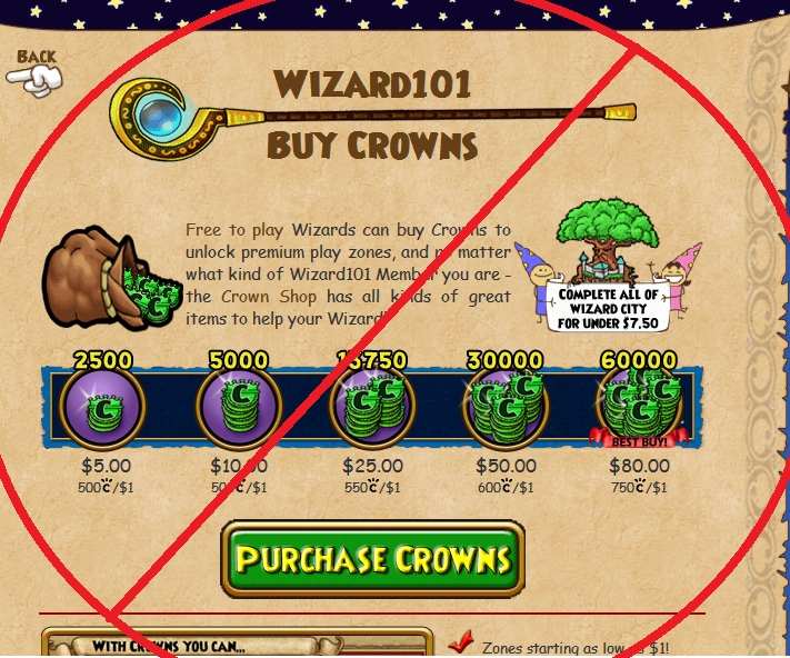 wizard101 videos for crowns