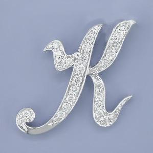 K Letter In Diamond All pictuer