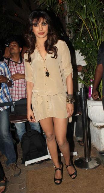 Priyanka Chopra at 50th Birthday Party of Sanjay Bhansali!