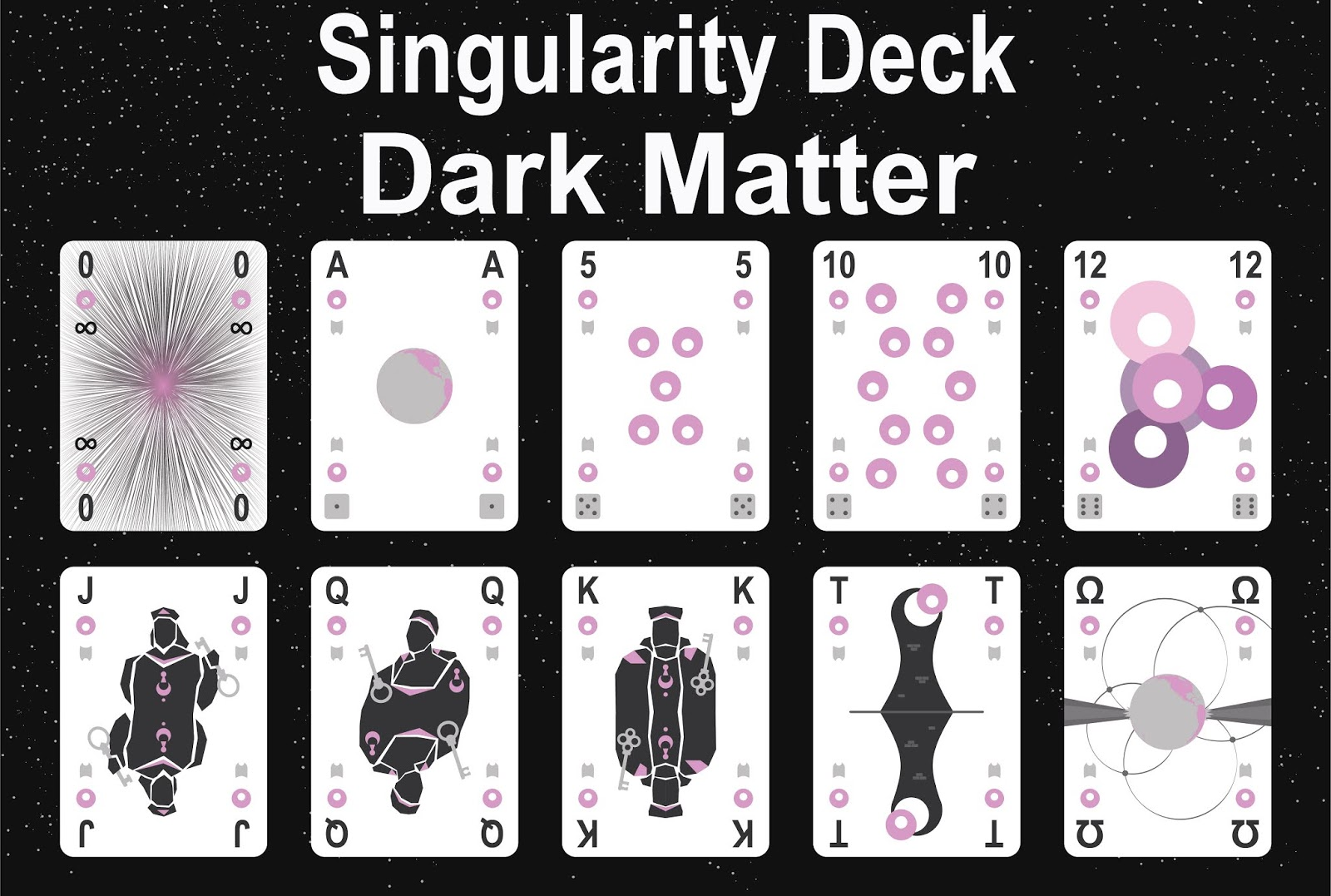 The Singularity Deck - Dark Matter Art