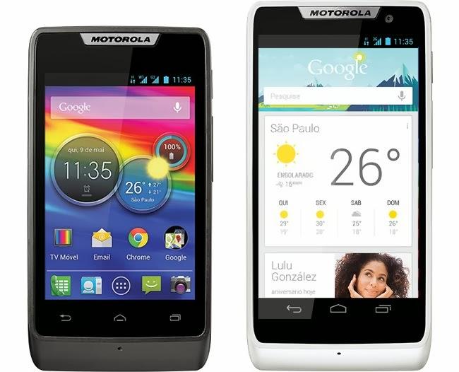 Motorola Razr D1 y D3
