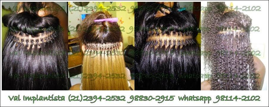Implantista,alongamento de cabelo