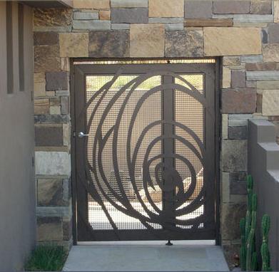 Fotos y dise os de puertas puertas automaticas garaje - Disenos de puertas metalicas ...