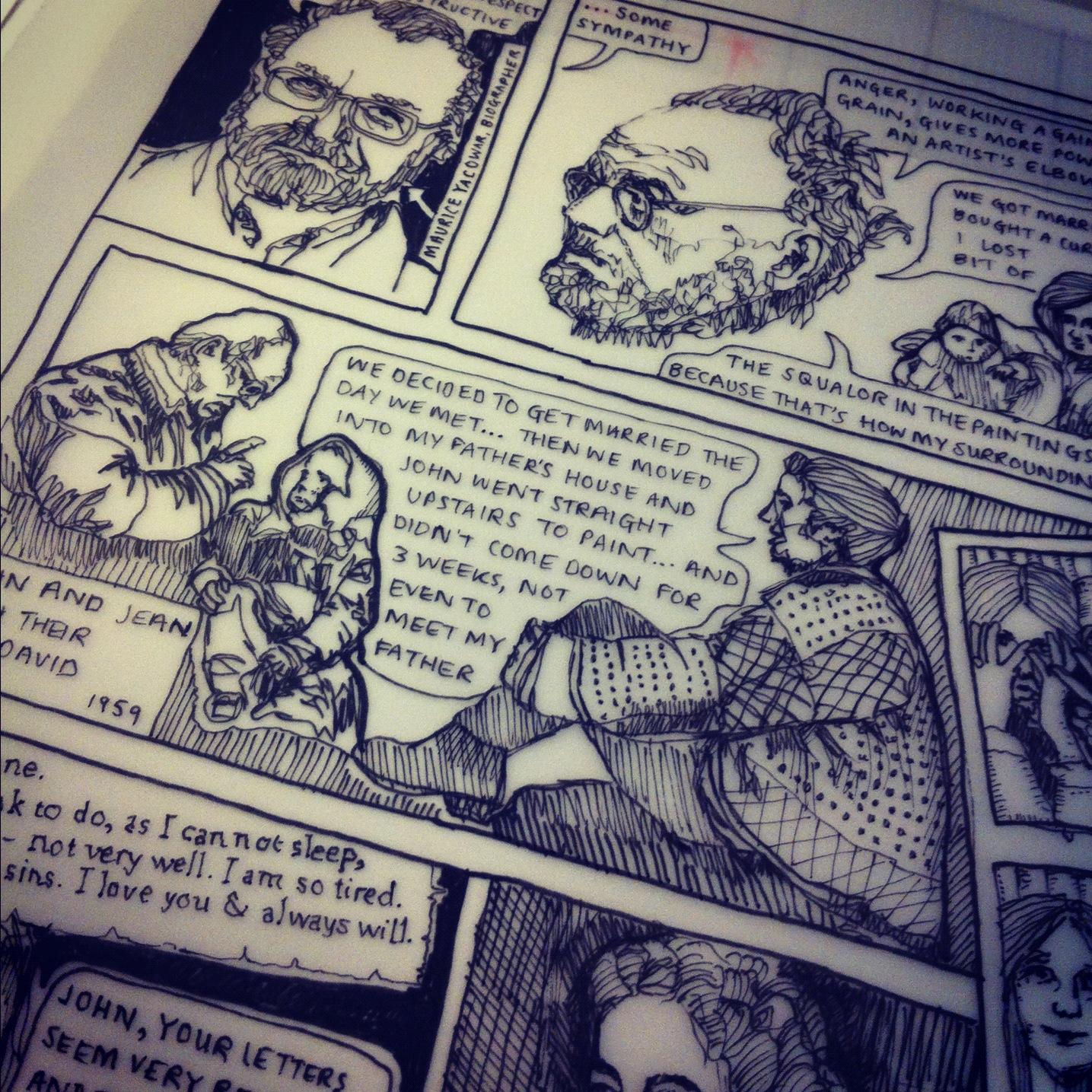 John Bratby Drawings The Painter John Bratby