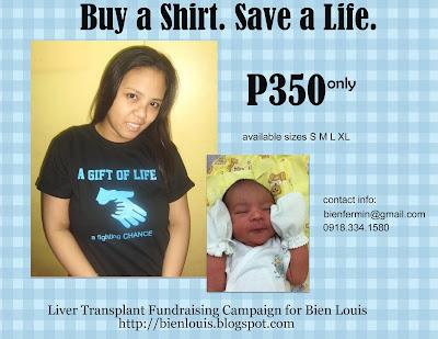 Buy A Shirt. Save A Life.