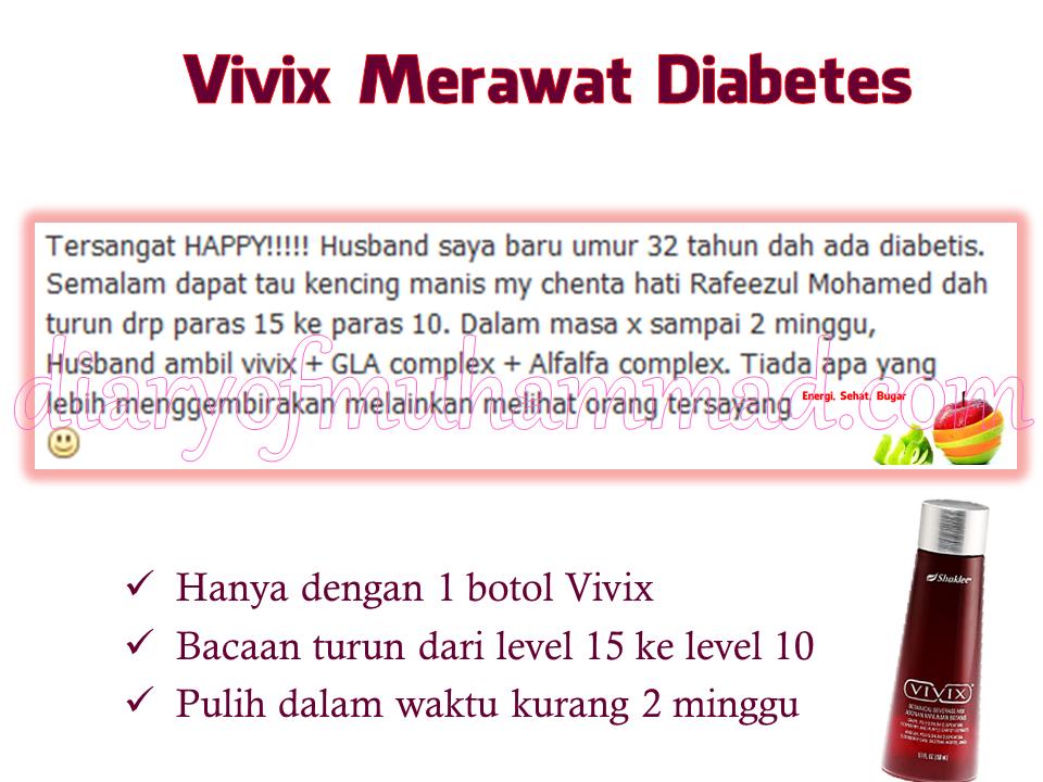 vivix merawat diabetes