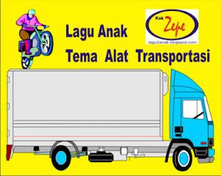 Lagu Anak Tema ALat Transportasi (Motor, mobil, Taxi, Bus, Kereta Api