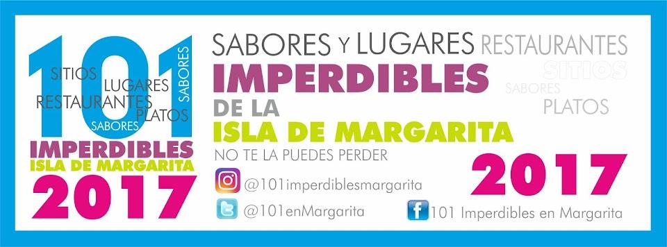 LISTA 101 IMPERDIBLES DE MARGARITA 2017