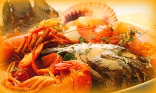 Sudado de pescado mixto