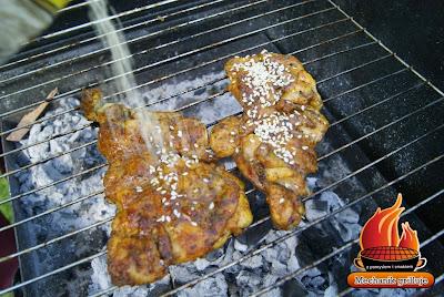 Stek z udka drobiowego stek drobiowy Mechanik grilluje Dart - Pol catering prywatnie przyjęcia grillowe