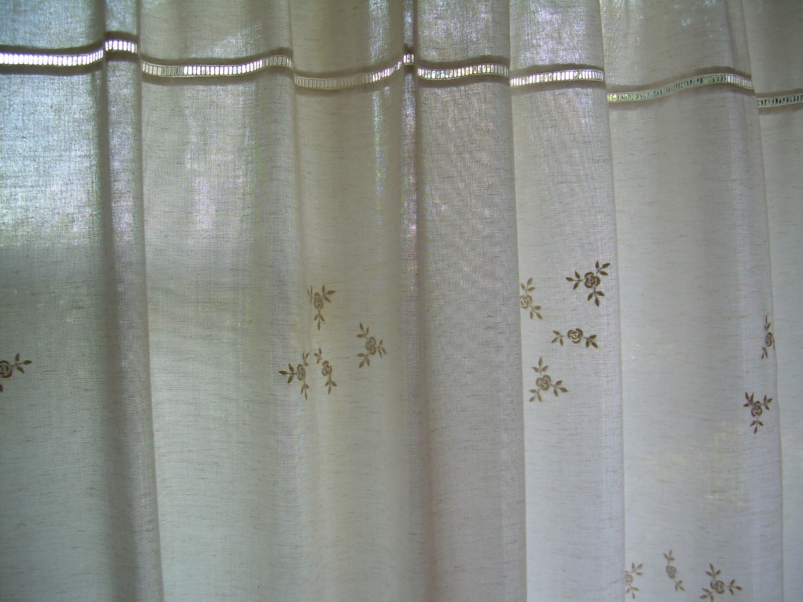 Cortinas De Ba O Bordadas