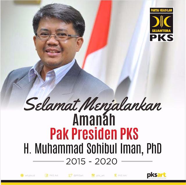 Ini Profil Muhammad Sohibul Iman, Presiden PKS Yang Baru