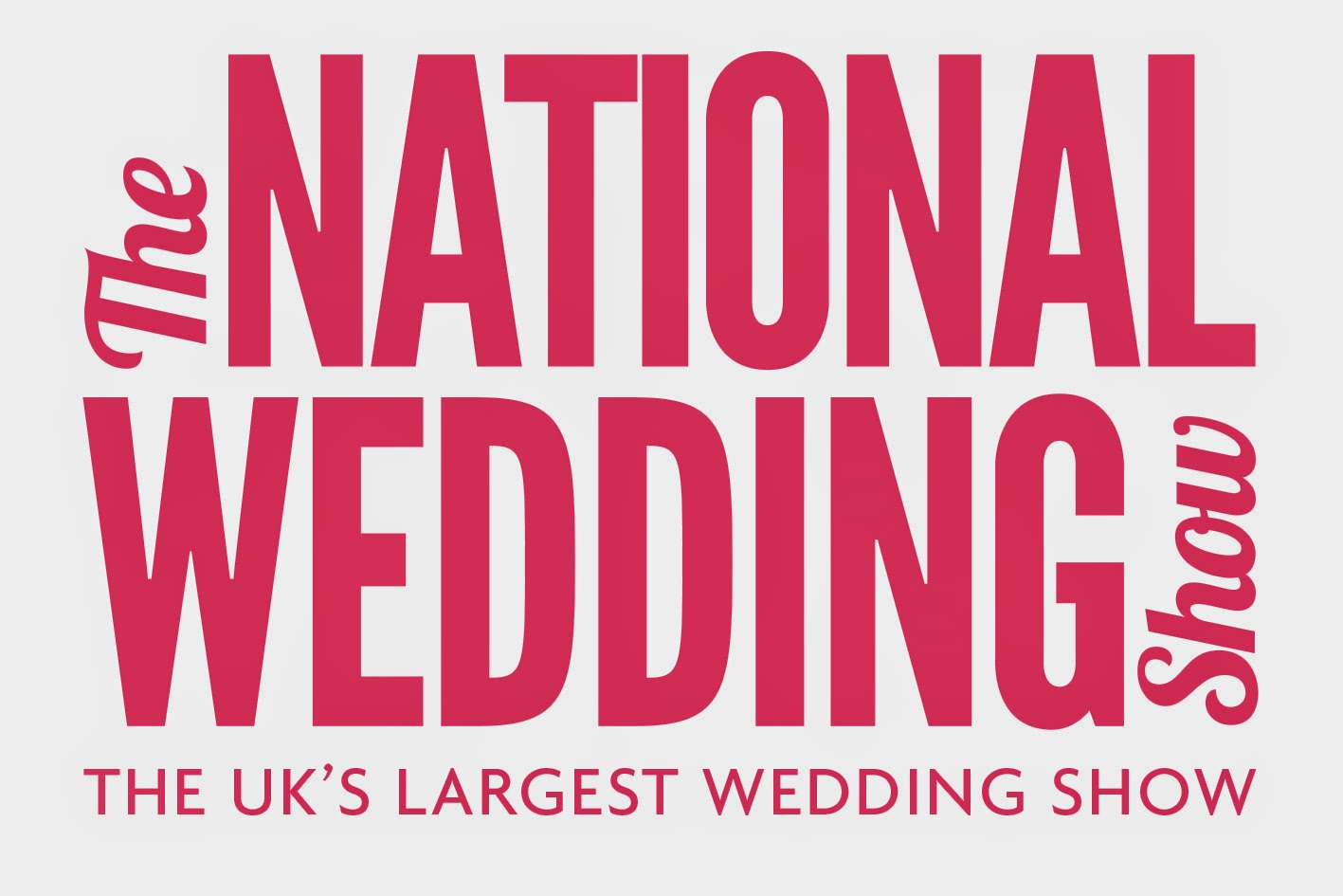 Meet us at the National Wedding Show