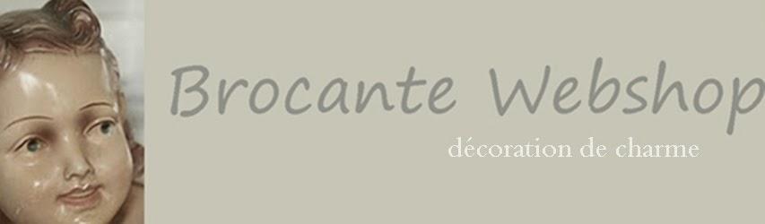 BROCANTE WEBSHOP