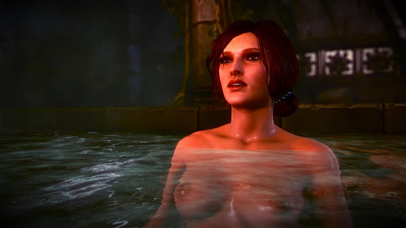 The Witcher 2 - Triss Nude