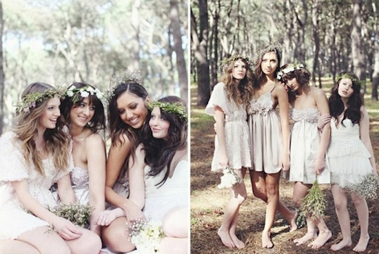 Free Style Bridesmaid Dresses