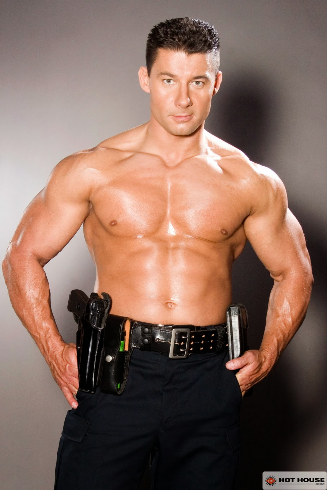 polis Gay bondage