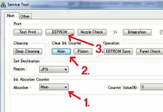 solusi untuk memperbaiki Error 5B00 pada printer MG2570