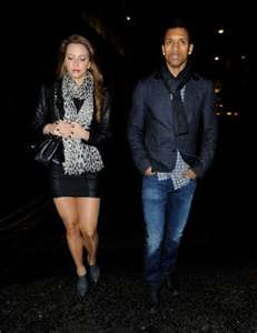Luis nani with his girlfriend daniela martins
