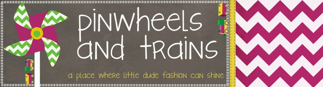 pinwheels and trains