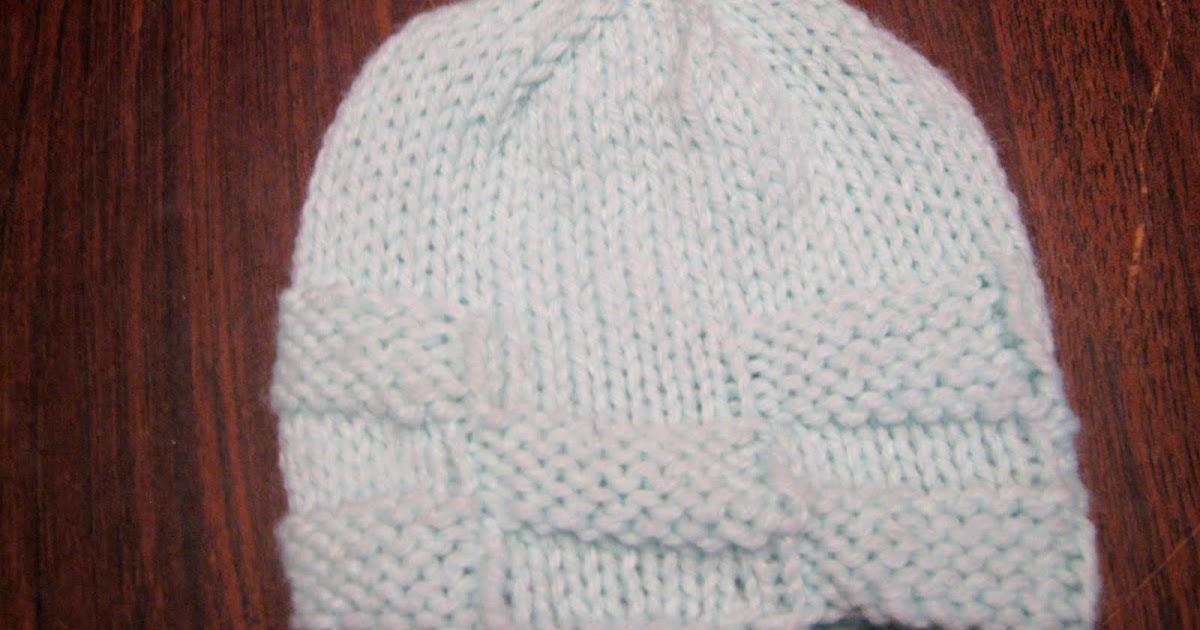 Wanderlust:: Basket Weave Baby Hat
