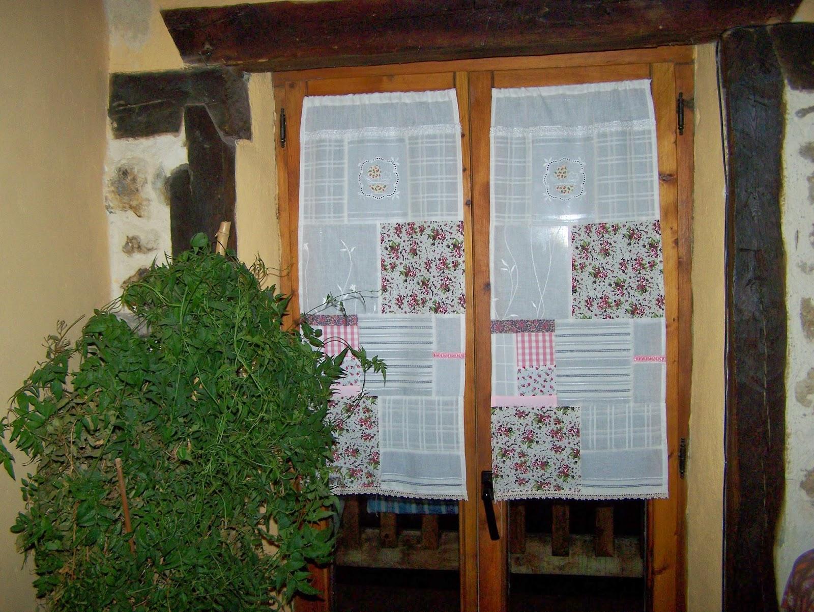 La petite maison de patchwork cortinas patchwork vintage for Cortinas vintage