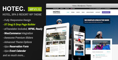 Hotec - Responsive Hotel, Spa & Resort WP Theme