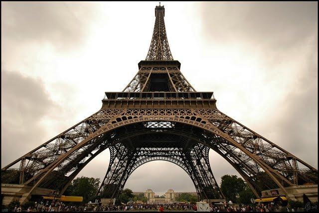度蜜月的地方❤巴黎鐵塔