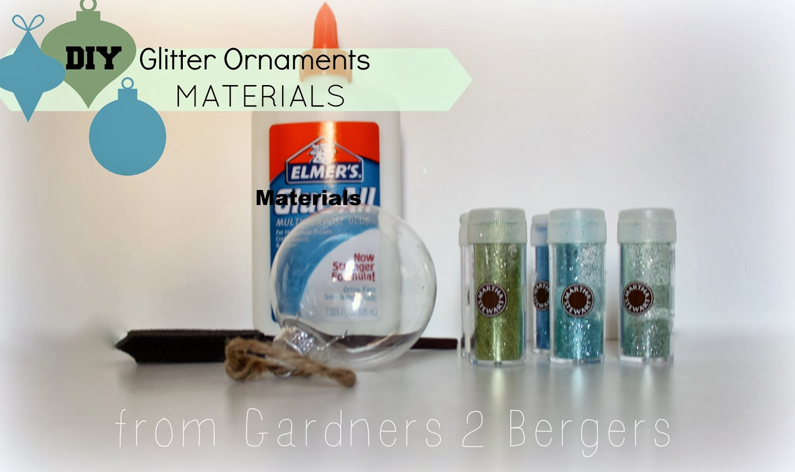 Watch How to Make Glitter Ornaments video