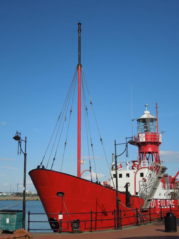 Lightship Helwig Cardiff Bay